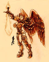 Kali: The Erinyes Matriarch by Roninwolf1981