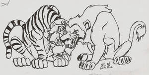 Disney Big Cats by Roninwolf1981