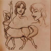 Centaur Chic II by Roninwolf1981