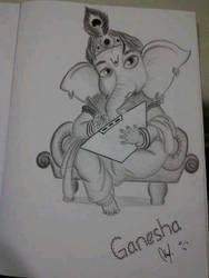 ganesha by nicoyudha