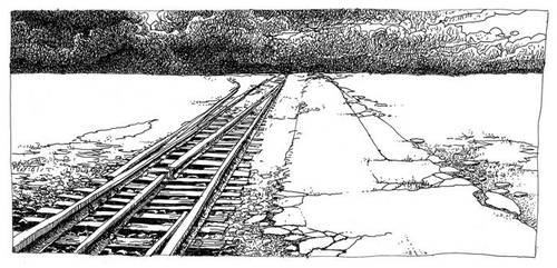 Train tracks by lukpazera