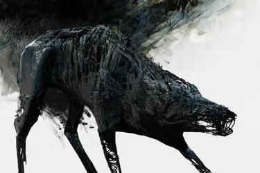 Dog of Zone IV by lukpazera