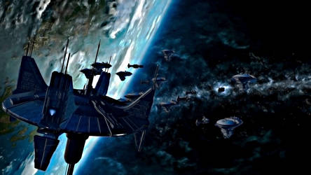 Republic Fleet by LordXidiin