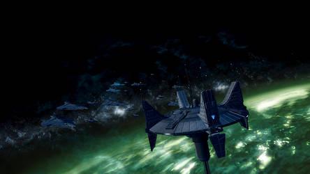 Imperial Fleet by LordXidiin