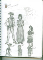 Rango Characters as Humans? by islandcutie1202