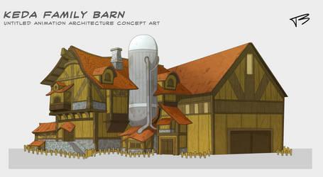 Keda Family Barn by TreyBarksArt