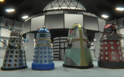 Whos Who Dalek set 2012 by WhosWho23