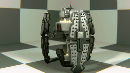 Dalek Fighter Pod (Day of the Doctor) by WhosWho23