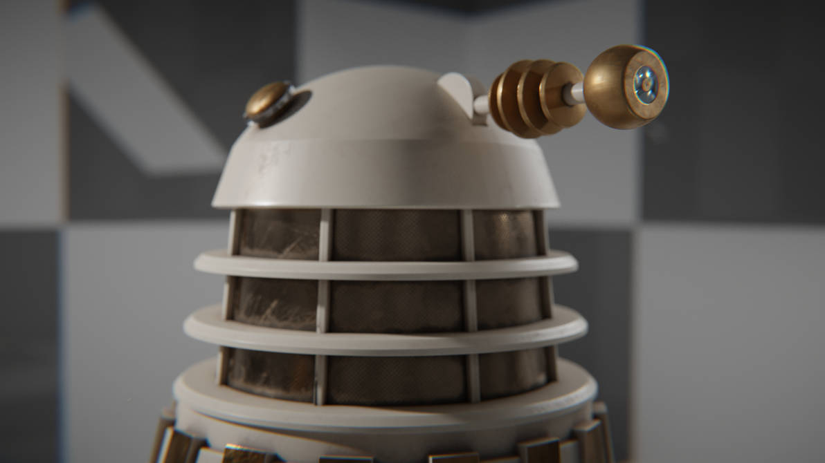 Imperial Dalek Closeup by WhosWho23