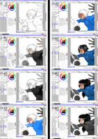 step by step by Dye-EvolveII