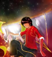 Ryu the Dragon kite by Dye-EvolveII