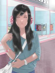 Listeningmusic by Dye-EvolveII