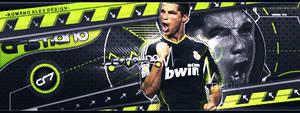 Cristiano Ronaldo Real Madrid by romano-alex