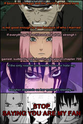 Stop saying you are my fan (Team 7 version) by CodeHeaven