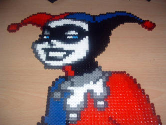 Harley Quinn Bead Sprite by Anphobia