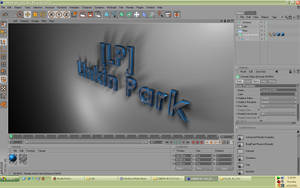 3D text Test in Cinema 4D by salmanlp