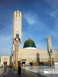 Masjid-e-Nabawi by salmanlp