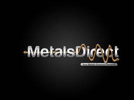 metal logo by salmanlp