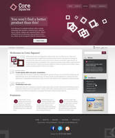 Business layout Core Square by salmanlp
