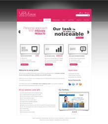 Hosting website Mockup by salmanlp