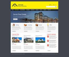 Xenob Real Estate by salmanlp