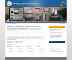 NED Mech eng website design by salmanlp