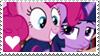 Stamp: Twilight Sparkle x Pinkie Pie by Mint-Berry-Crunch-69