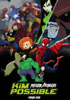 Kim Possible Mission Avengers by BlueprintPredator