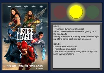Justice League - Movie Review by BlueprintPredator