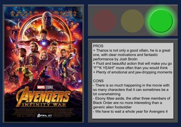 Avengers: Infinity War - Movie Review by BlueprintPredator