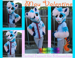 Mau Valentine Partial Suit by TECHNlCOLOUR