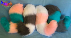 (SOLD) Cotton Candy Tails by TECHNlCOLOUR