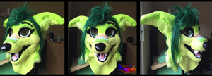 Vinery Fursuit Head by TECHNlCOLOUR