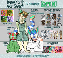 (OPEN FOR COMMISSIONS) Danny's Art Shack by TECHNlCOLOUR