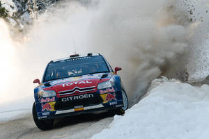 WRC Rally Sweden 2010 _1_ by schwepes