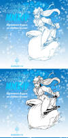 Happy New Year 2014 by Inshader