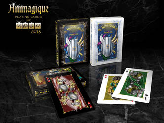 The Playingcards Animagique on Kickstarter now by Inshader