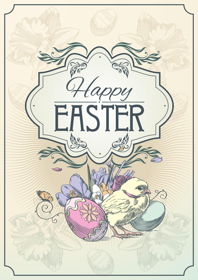 Happy Easter The postcard 2 by Inshader