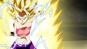 Dragon Ball Super - Caulifla SSJ2 by razorzeshu