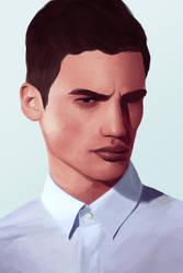 Portrait Study I by jack-ball