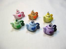 Pastel Teapot Love by okapirose