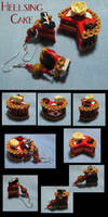 Hellsing Cake by okapirose