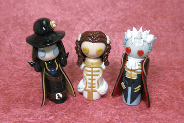 Wobbles: Vampire Hunter D Group by okapirose