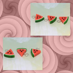 Charms: Watermelons by okapirose