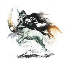 Banshee Centaur by Miladymorigane