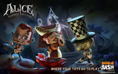 Alice in BigHead BASH 2 by SpicyHorseOfficial