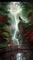 Red Bridge by SpicyHorseOfficial