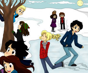 2012 Christmas Day Two: Percy Jackson by BlueSeptember