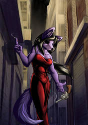 Commission-Lupine Assassin by Boneitis