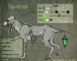 Specter Reference Sheet by CasArtss